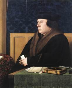 Thomas Cromwell, Henry viii's minister, subject of book by Hilary Mantel
