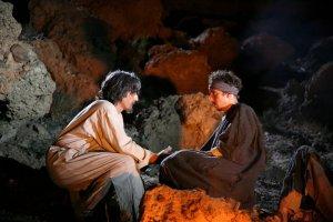 BBC Nativity Gabriel and Thomas