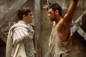 Gladiator Commodus Russel Crowe Joachim Phoenix