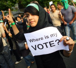 Iran protests in 2009