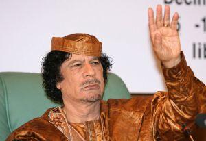 The dictator of Libya - Colonel Gaddafi