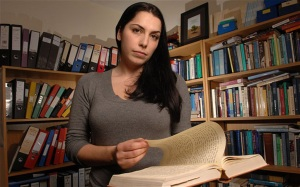 Francesca Stavrakopoulou, presents the BBC series the Bible's Buried Secrets