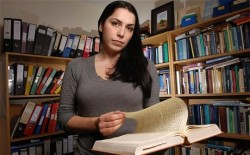 Francesca Stavrakopoulou presents the BBC's Bible's Buried Secrets