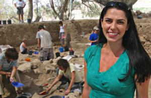 BBC film Bible's buried secrets presented by Dr Francesca Stavrakopoulou