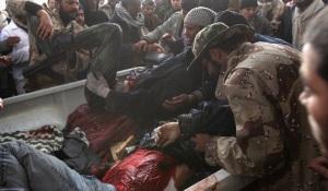 Rebels wounded in fighting in Libya