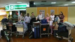 Springfield Church group arrive in Nairobi, Kenya
