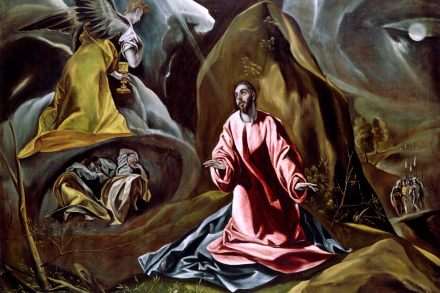 El Greco's The Agony in the Garden