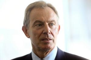 Tony blair ex prime minister britain