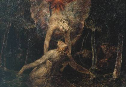 William Blake's The Agony in the Garden