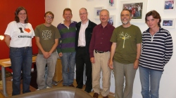 Team that met with Julian and Barrie from Eco-congregation (they are 4th and 5th from left)