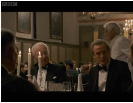 friend Graham Gemmell & Bill Nighy in Page eight