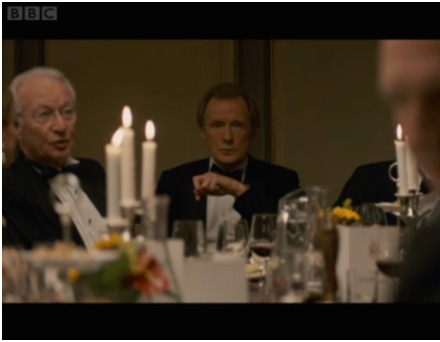 Graham and Bill Nighy in the BBC Page eight drama