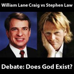 William craig law + Stephen law debate
