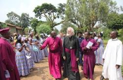 Rowan williams in Eastern Congo