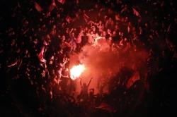 Tahrir Square Celebration in Arab spring