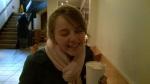 Hot chocolate break!