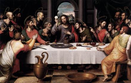 Joan de Joanes - Last Supper