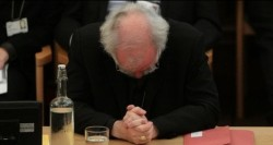 Rowan williams head bowed