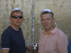 On Sabbatical at the Wailing Wall with Basil