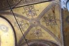 Ornate ceiling of the Hagai Sofia