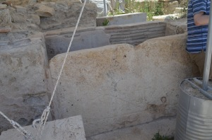 Cistern with Cross on it