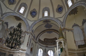 Inside the Little Hagia Sophia, originally built by the Byzantine Emperor Justinian