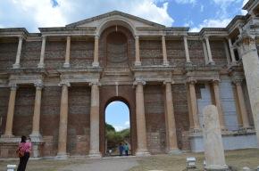 The gymnasium at Sardis