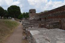 Row of ancient shops at Sardis