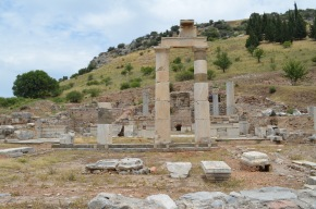Home of the Grammateus (town clerk) - the Prytaneion in Ephesus