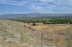 View from the top of the North Temple at Laodicea