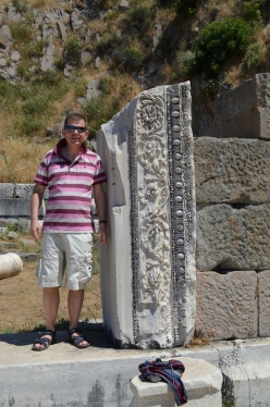 Propping up the Temple of Dionysus
