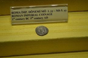 Roman coin found at Hierapolis