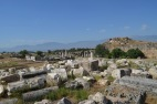 Ruins of Hierapolis. Much hasn't been excavated yet