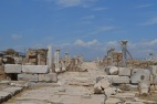 Looking North west down Syrian St, Laodicea