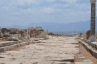 Looking South-East down Syrian Street, Laodicea