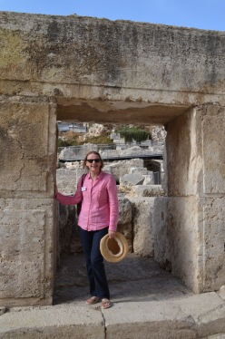 First century shop beneath the walls of the Temple Mount