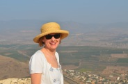 Overlooking northern Galilee